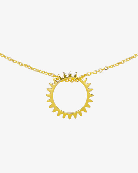 Keep Turning Necklace - Gold
