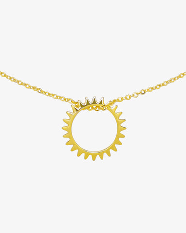 Keep Turning Necklace - Gold - we are SASSY.