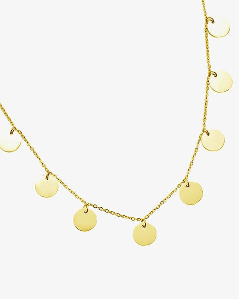 Coins Necklace - Gold