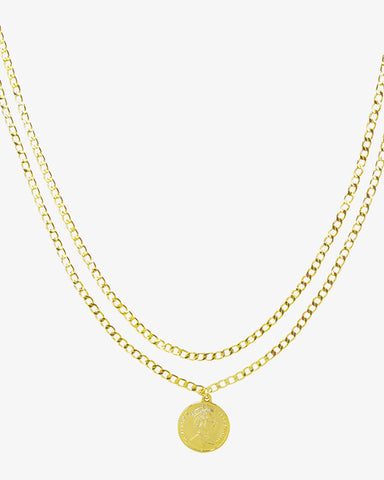 La Reina Necklace - Gold - we are SASSY.