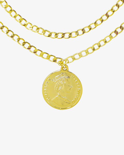 La Reina Necklace - Gold