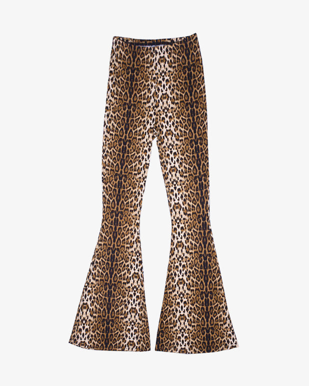 Leopard Flared Pants - we are SASSY.