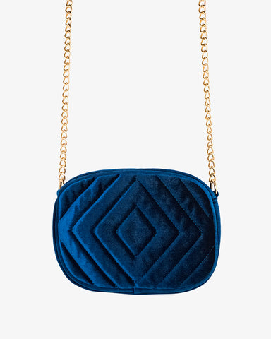 Louise Bag - Blue - we are SASSY.