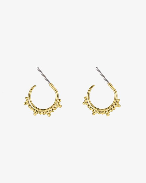 Multiple Dots Earrings - Gold - we are SASSY.