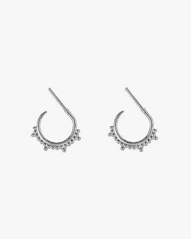 Multiple Dots Earrings - Silver - we are SASSY.