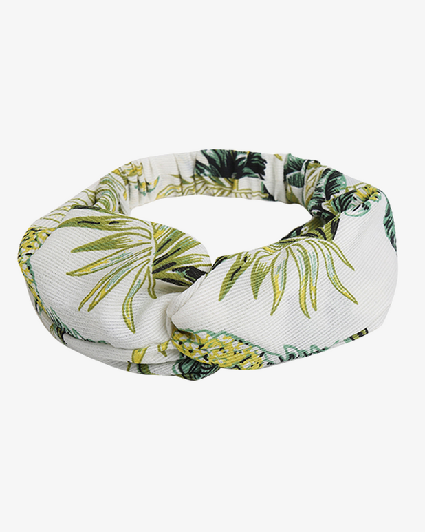 Pineapple Party Headband - White - we are SASSY.