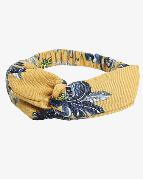 Pineapple Party Headband - Yellow