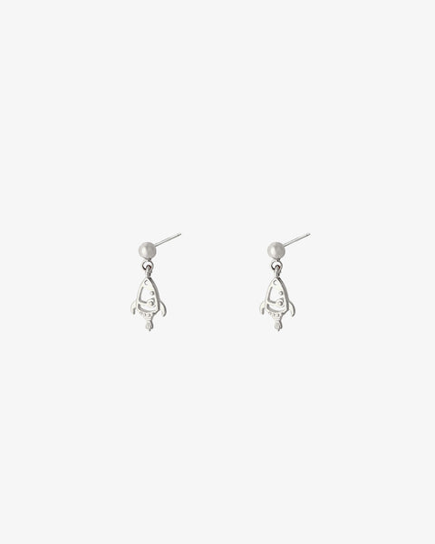 Rocket Earrings - Silver
