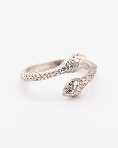 Sssassy Snake Ring - Silver - we are SASSY.
