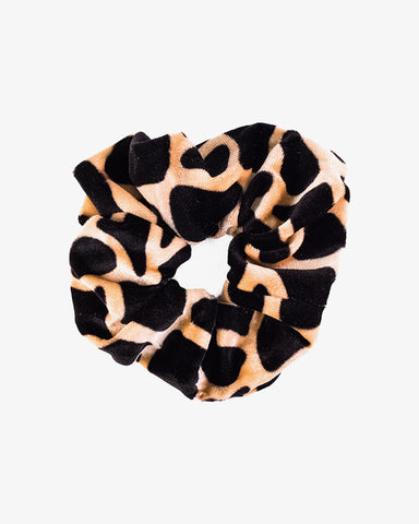 Animal Scrunchie - Brown - we are SASSY.