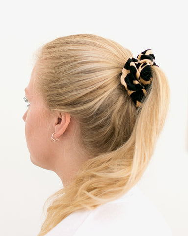 Animal Scrunchie - Brown