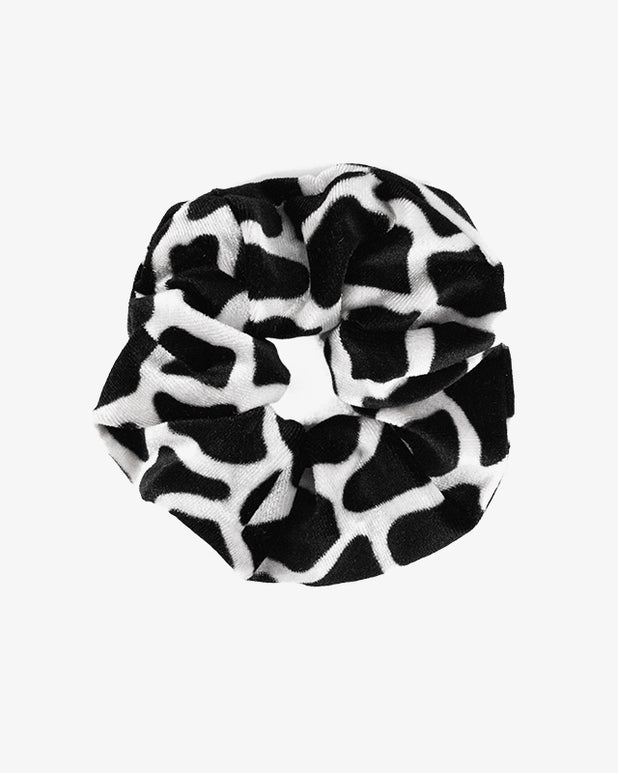 Animal Scrunchie - White