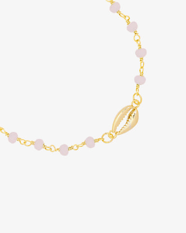 Shell Babe Bracelet - Gold - we are SASSY.