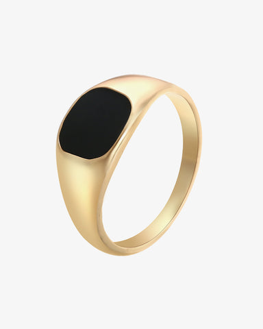 Signet Ring - Gold - we are SASSY.