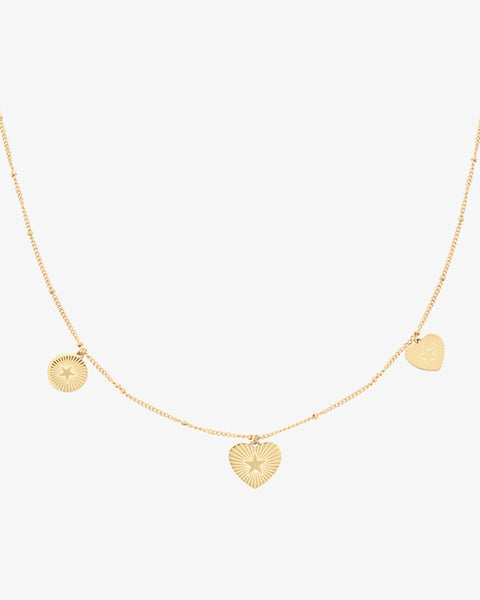 Star Lover Necklace - Gold