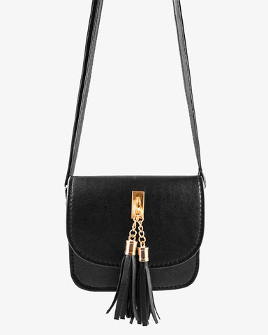 Sarah Bag - Black - we are SASSY.