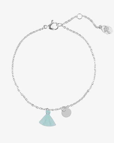 Tassel Mania Bracelet - Silver - we are SASSY.