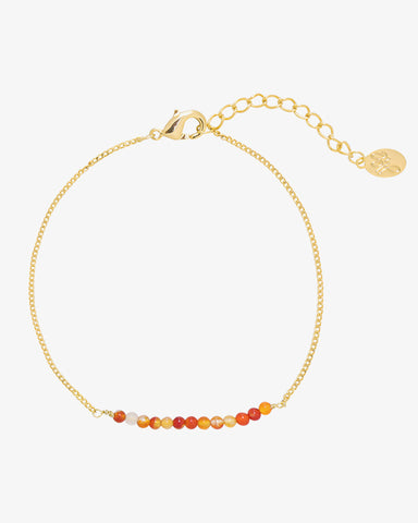 The Beads Bracelet - Gold - we are SASSY.