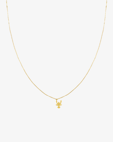 The Lobster Necklace - Gold