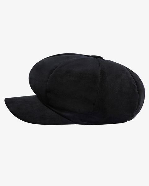 The Velvet Hat - Black