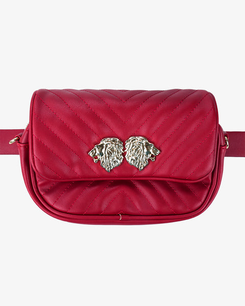 Two Ways Lion Bag - Red