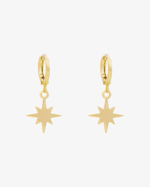 Universe Star Earrings - Gold