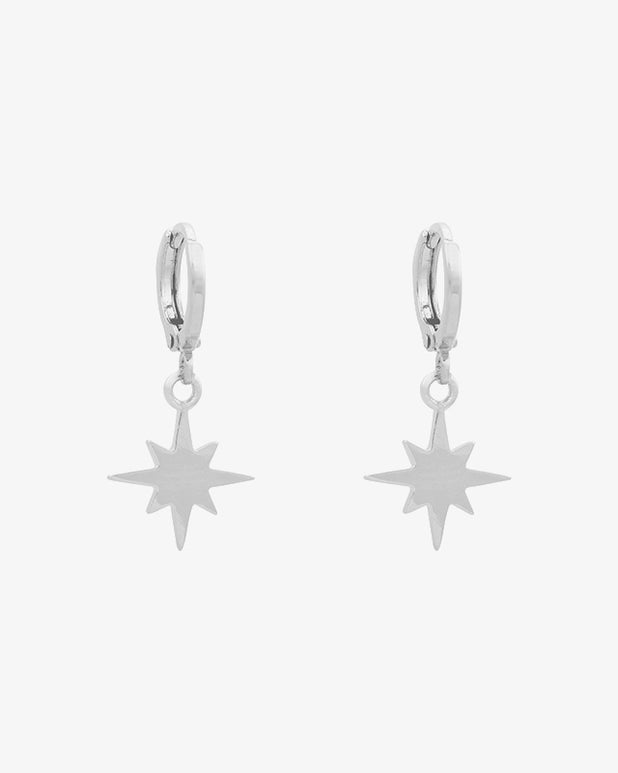 Universe Star Earrings - Silver - we are SASSY.