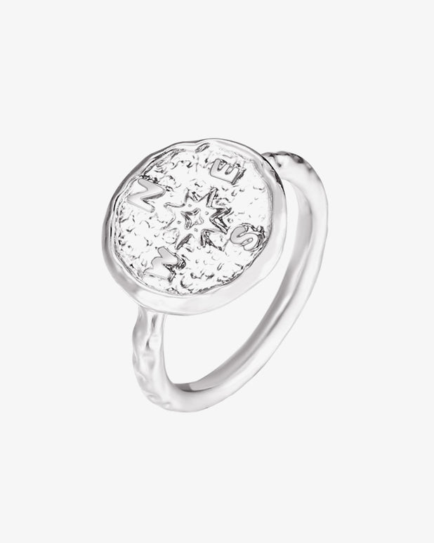 Wanderlust Ring - Silver - we are SASSY.