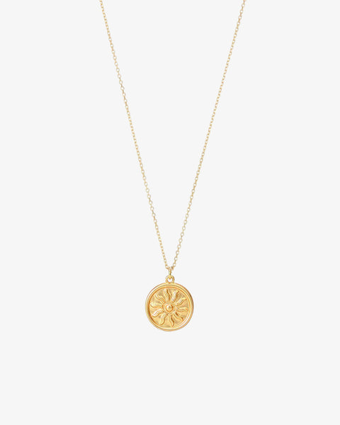 You're My Sunshine Necklace - Gold