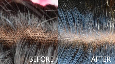 Bleached Frontal Before & After