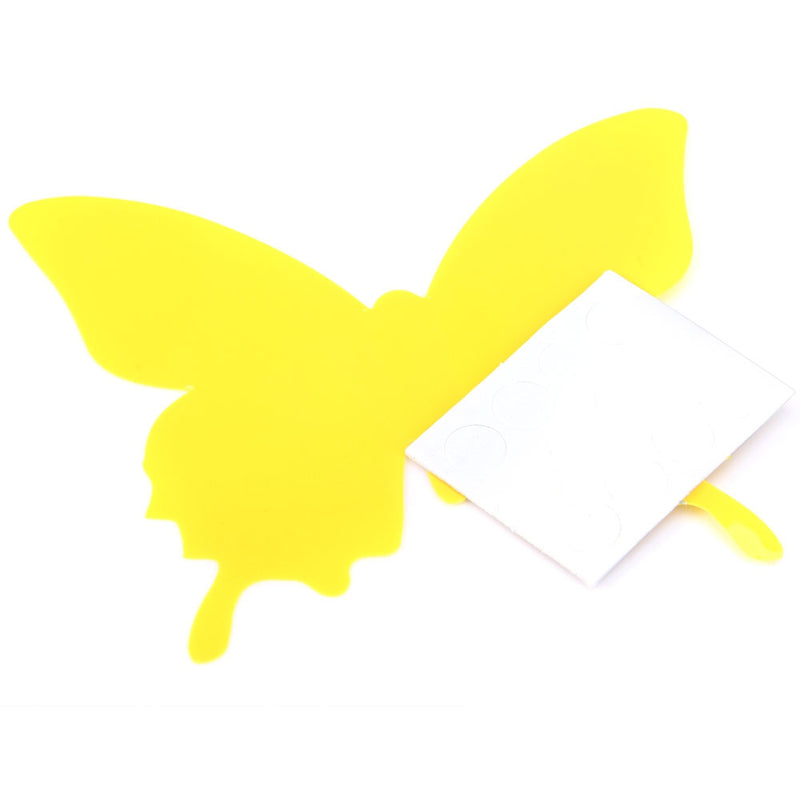 DIY 3D Butterfly Wall Sticker Art Decal Paper for Home Ornament ...
