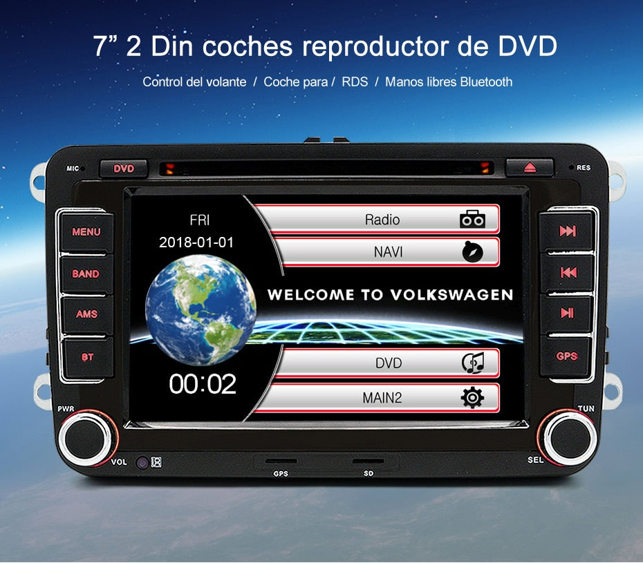 car dvd radio player gps navigation for vw golf 6 golf 5. Black Bedroom Furniture Sets. Home Design Ideas