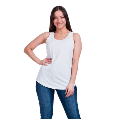 T503188 CKM Tank Top White