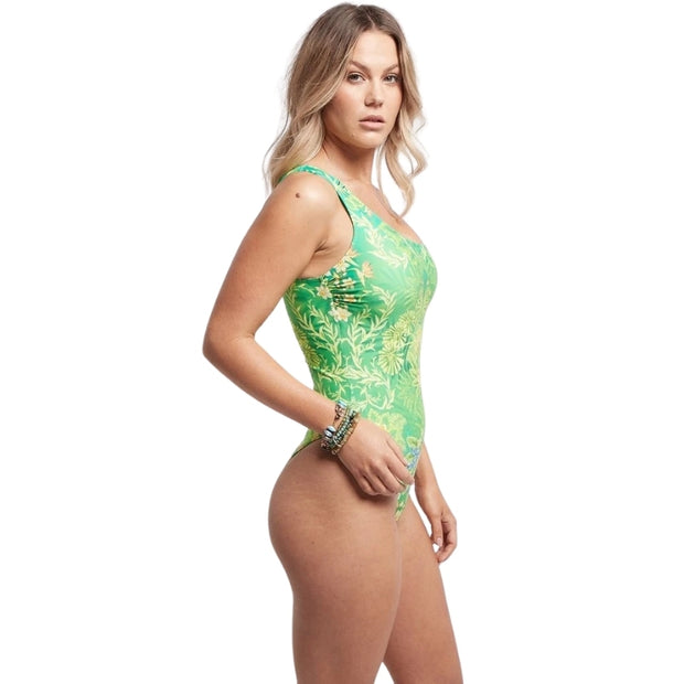 Between The Raindrops One Shoulder Swimsuit