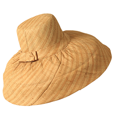 Caperline hat - Stripe Beige