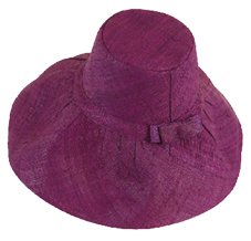 Demi Caperline Hat - Plum