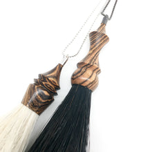 WS bocote tassel necklace