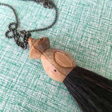 ambrosia maple tassel necklace