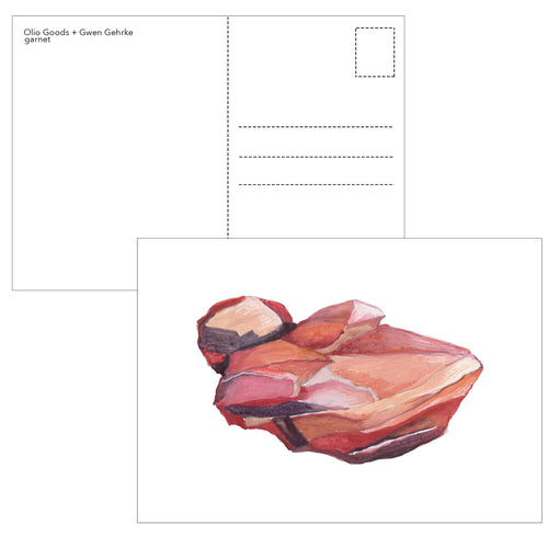 birthstone postcard 12 pack
