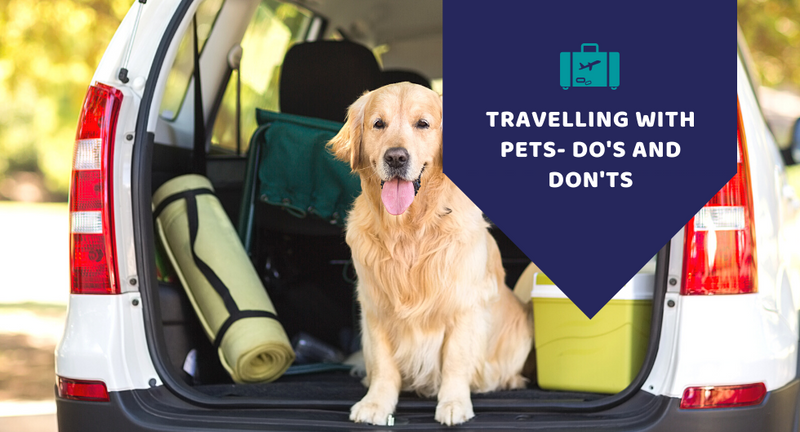 Travelling with pets- Do's an Don'ts