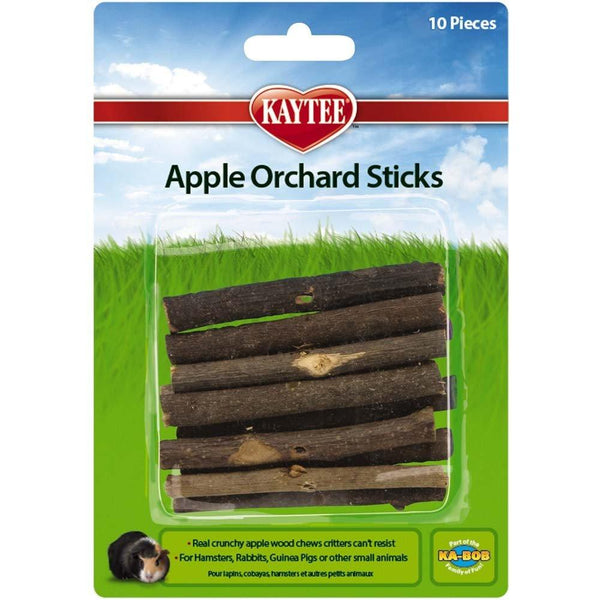 Kaytee Apple Orchard Sticks 10pk, Kaytee