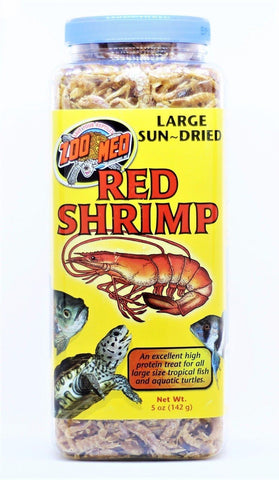 Zoo Med Large Red Shrimp 5oz, Zoo Med