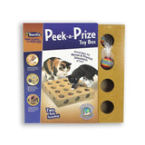 Peek-a-Prize Toy Box w/2 Toys, Pioneer Pet