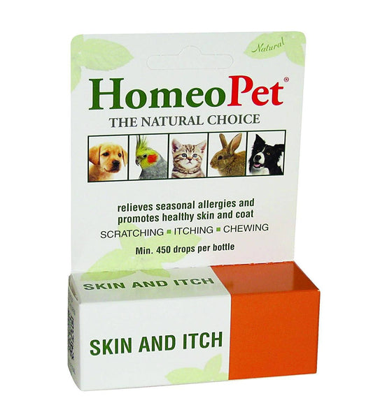 HomeoPet Skin & Itch Relief, 15ml, HomeoPet