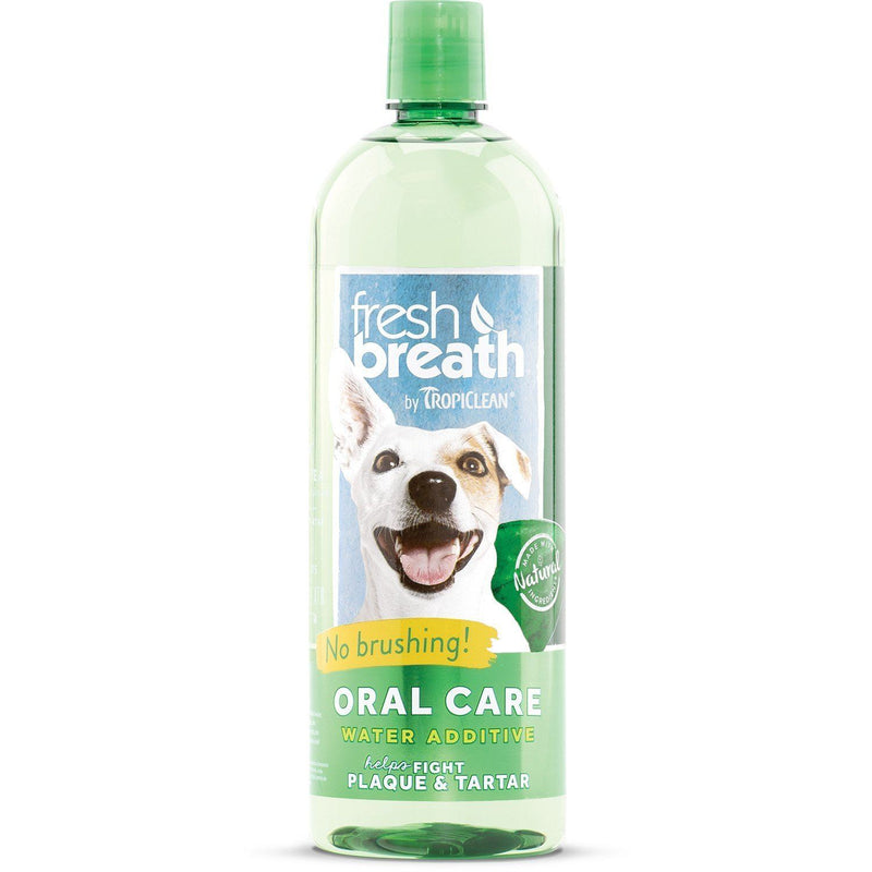 Fresh Breath by TropiClean Oral Care Water Additive, Tropiclean