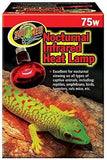 Zoo Med Nocturnal Infrared Heat Lamp 75W, Zoo Med
