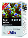 Red Sea Coral Colors ABCD 4 Supplement Pack, Red Sea