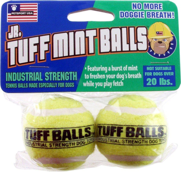 Petsport Jr. Mint Balls 2pk, Pet Sport