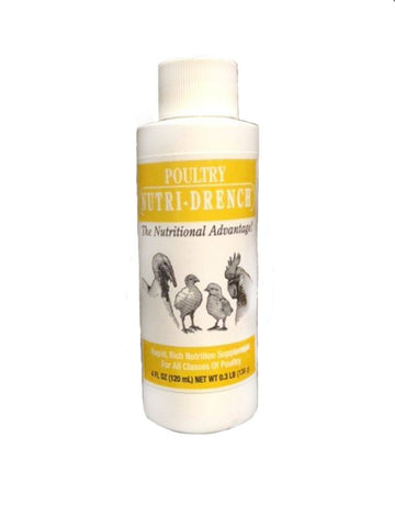Poultry Nutri-Drench 4 oz, Bovidr Laboratories