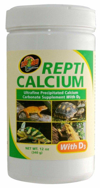 Zoo Med Repti Calcium with D3 Ultra Fine 12oz, Zoo Med